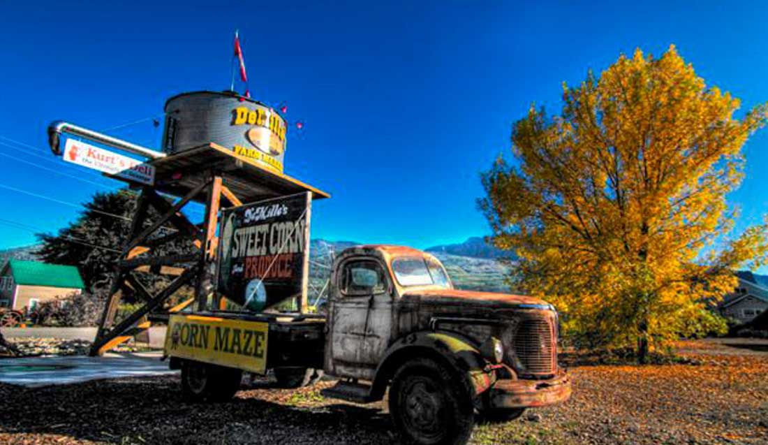 DeMilles Old Truck