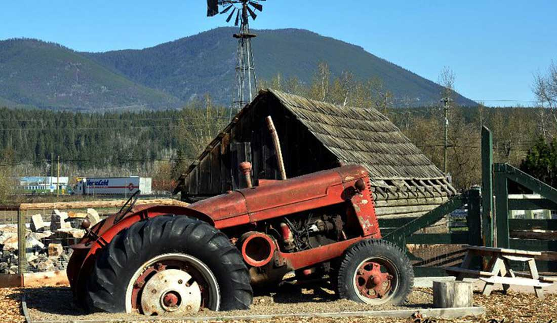 DeMille's Tractor