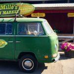 DeMille's Market VW Van